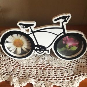 Cute bicycle photo frame